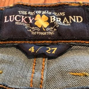 Lucky Brand Charlie Flare.  Size 4 / 27.